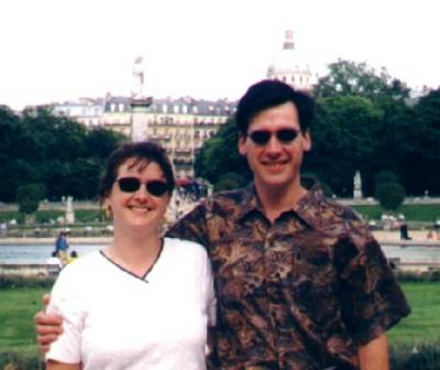 Amber and Ron, Paris