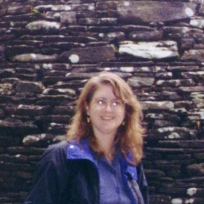 Enjoying our trip to the UK in 2000