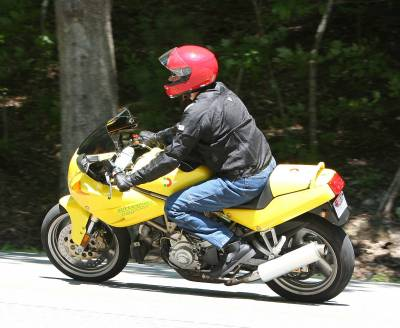 The Yellow Ducati